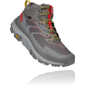 Hoka One One Toa GTX Boots Men charcoal gray/fiesta